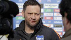 Pal Dardai, Trainer von Fußball-Bundesligist Hertha BSC, wurde am Donnerstag 41 Jahre alt. (Quelle: imago/Metodi Popow)
