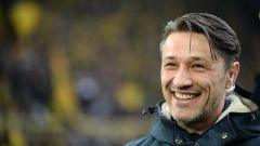 Niko Kovač am 11.03.18 beim Spiel Borussia Dortmund -gegen Eintracht Frankfurt (Bild: dpa)