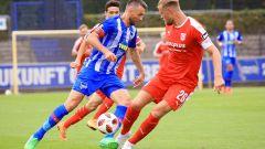 Vedad Ibisevic von Hertha BSC im Testspiel gegen Halle(Quelle: imago/Nordphoto)