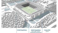 Hertha Stadionpläne (Quelle:Hertha BSC)