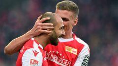 """Union-Angreifer Akaki Gogia: """"Wo wir gerade stehen, das kommt nicht von irgendwo."""" / imago/Bernd König"""