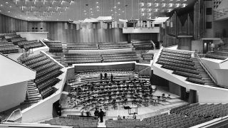 Innenansicht der Berliner Philharmonie am 16.10.1963 (Bild: imago-images/united archives international)