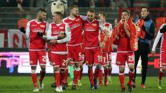 Die Spieler von Union Berlin feiern den Sieg gegen Köln (Quelle: imago/Contrast)
