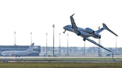 Notlandung Luftwaffen-Jet (Quelle: dpa/Marcel Russ) | dpa/Marcel Russ