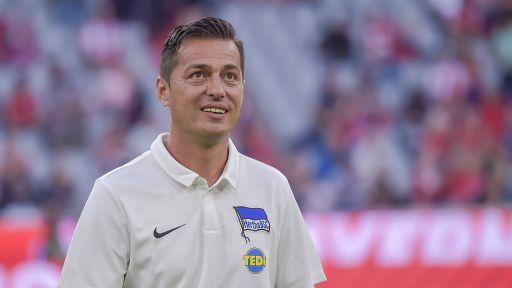 Hertha-Trainer Ante Covic (Quelle: imago images / Schiffmann)