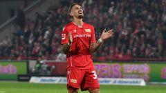 Union-Spieler Robert Andrich ärgert sich (Quelle: imago images/Matthias Koch)