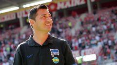 Hertha-Trainer Ante Covic (Quelle: imago images / Thomas Frey)