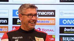 Urs Fischer, Trainer des Fußball-Bundesligisten 1. FC Union Berlin (Quelle: imago-images/Matthias Koch)