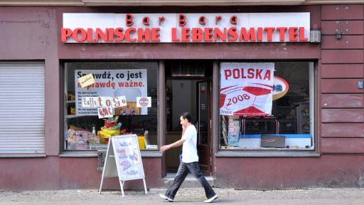 Ein polnischer Lebensmittelladen in Berlin | imago/Schöning