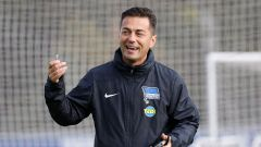 Hertha-Trainer Ante Covic (Quelle: imago images/Metodi Popow)