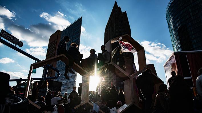 Extinction Rebellion In Berlin Klimaaktivisten Wollen