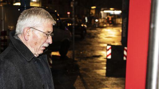 Der ehemalige Berliner Finanzsenator Thilo Sarrazin (SPD) kommt am 10.01.2020 zur mündlichen Verhandlung im Berufungsverfahren über seinen Ausschluss aus der Partei. (Quelle: dpa/Paul Zinken) | dpa/Paul Zinken