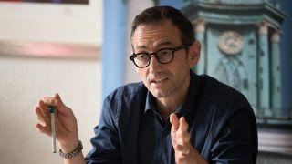 Archivbild: Stephan von Dassel (Bündnis90/Die Grünen), Bezirksbürgermeister von Berlin-Mitte, im Rahmen einer Pressekonferenz. (Quelle: dpa/J. Carstensen)