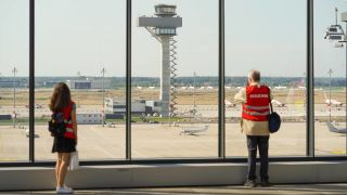 """Flughafen Berlin Brandenburg """"Willy Brandt"""" (Quelle: imago-images)"""