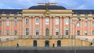 Landtag in Brandenburg (Bild: dpa/Soeren Stache)