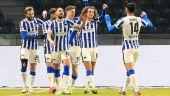 Die Spieler von Hertha BSC jubeln (Quelle: imago images/Nordphoto)