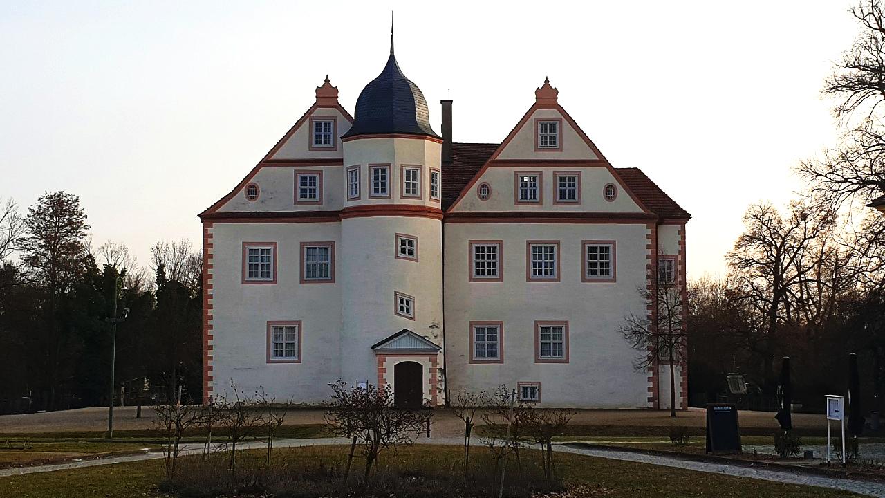Das Schloß Königs Wusterhausen im März 2021. (Quelle: rbb/Oliver Soos)