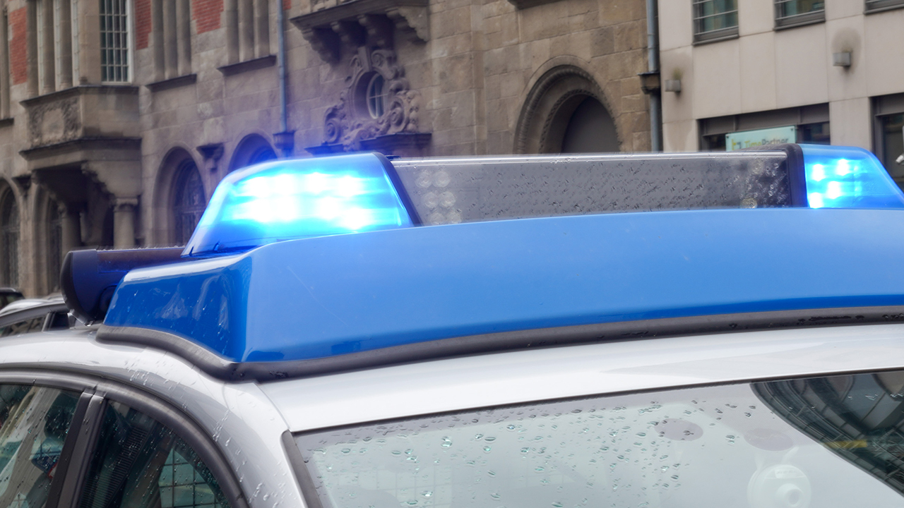 Symbolbild: Ein Polizeiauto am 24.09.2020 in Berlin. (Quelle: dpa/Reuhl)