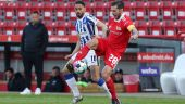 Herthas Matheus Cunha (l.) im Duell mit Unions Christopher Trimmel (imago images/O.Behrendt)