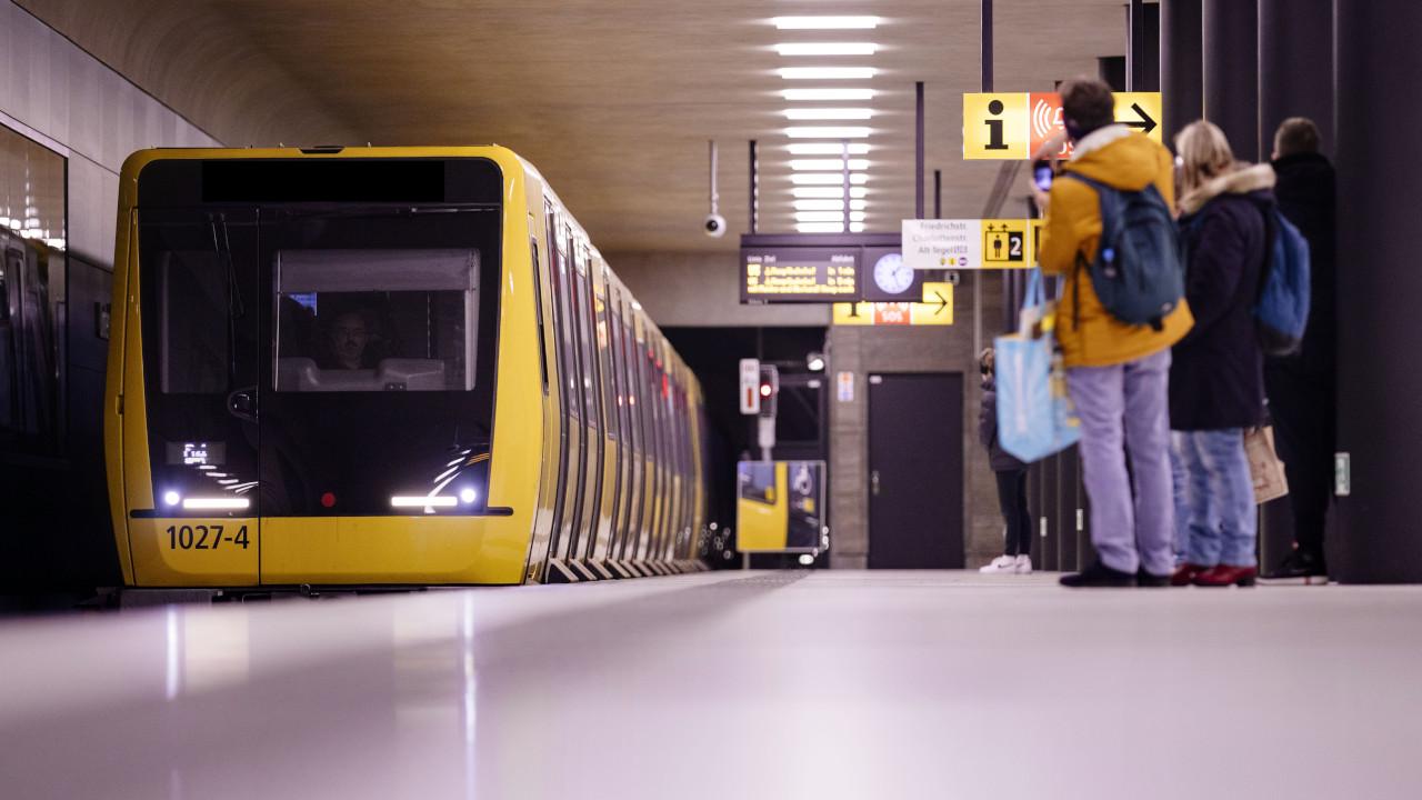 "U-Bahnhof ""Unter den Linden"" (Quelle: dpa/Christoph Hardt)"