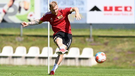 Andreas Voglsammer beim Training