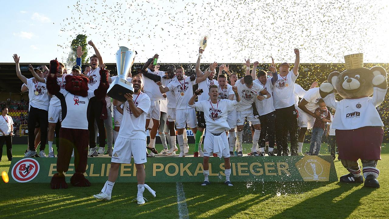 BFC Dynamo, Berliner Pokalsieger 2021 (imago images/Matthias Koch)