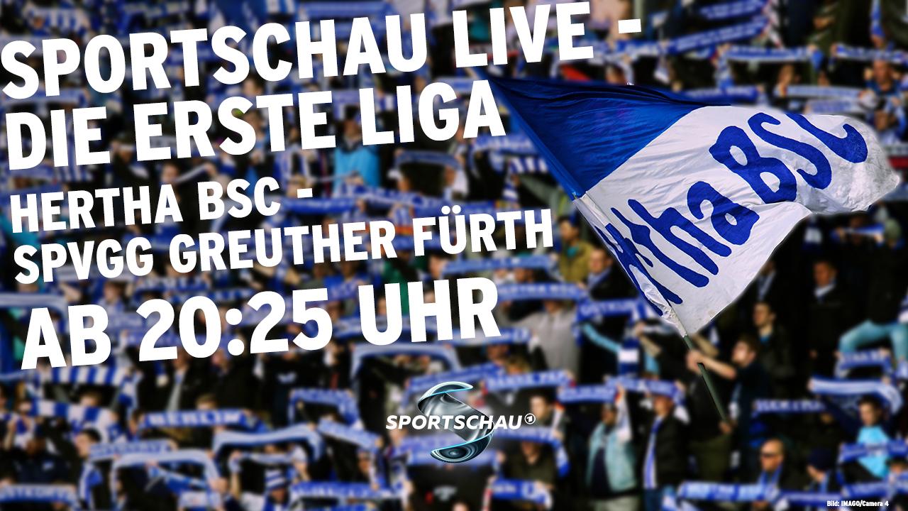 Spielankündigung Hertha - Fürth (imago images/rbb)