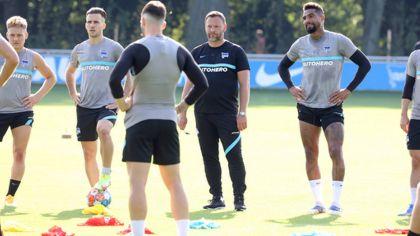 Mannschaftstraining bei Hertha BSC (imago images/Engler)