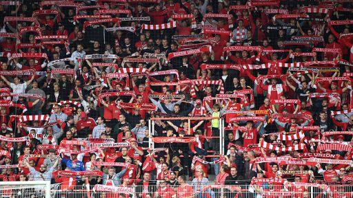 Fans des 1. FC Union Berlin im Stadion an der Alten Försterei (imago images/Matthias Koch)