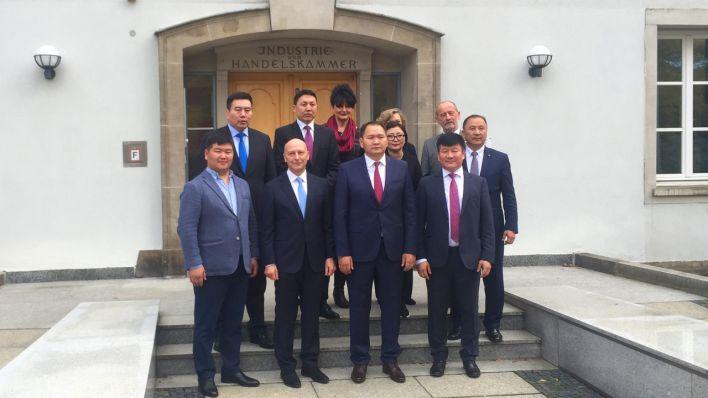 Mongolische Handelskammer eröffnet Büro in Cottbus