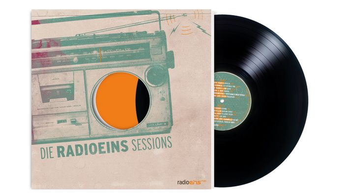 Plattencover Radioeins Sessions vol. 3
