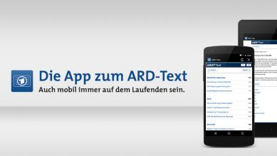 Die App zum ARD-Text (Quelle: ARD Text)