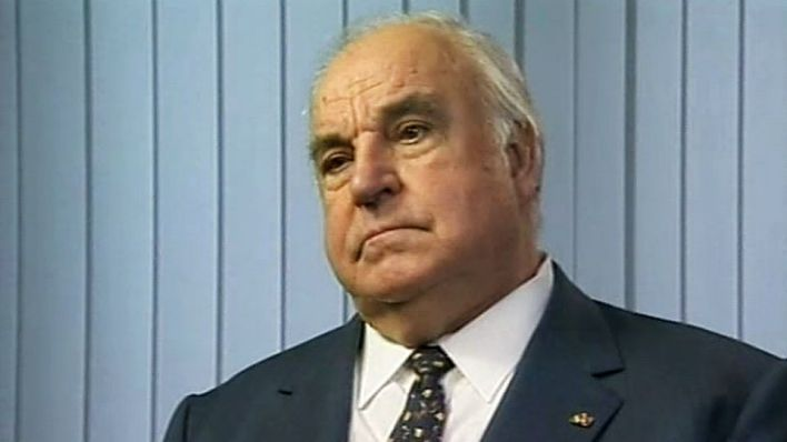 Helmut Kohl im Interview (Quelle: rbb)