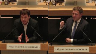 Florian Kluckert vs. Gottfried Ludewig (Quelle: rbb)